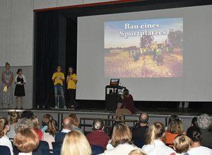 Vortrag über die Projekte des P-Seminars in Emmaberg
