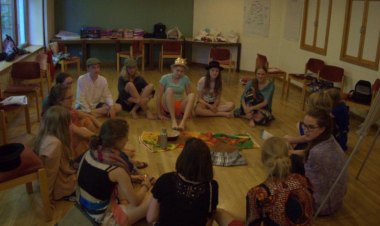 Interkulturelles Training der Reisegruppe nach Emmaberg