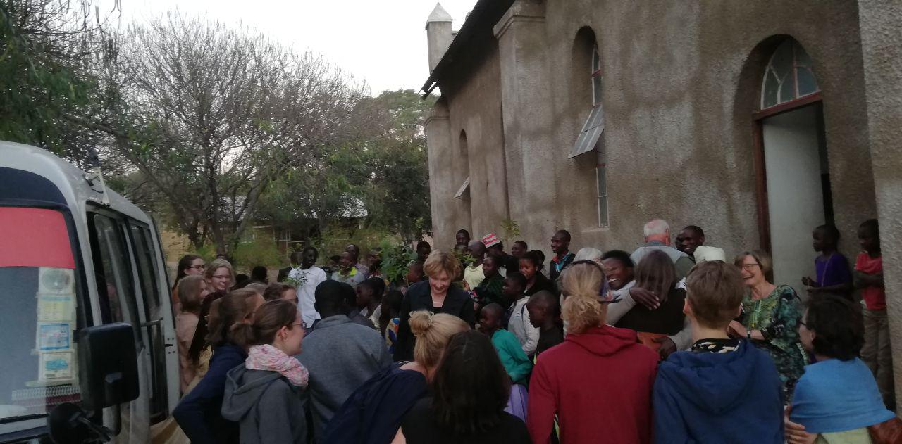 Begrüßung in Ilembula
