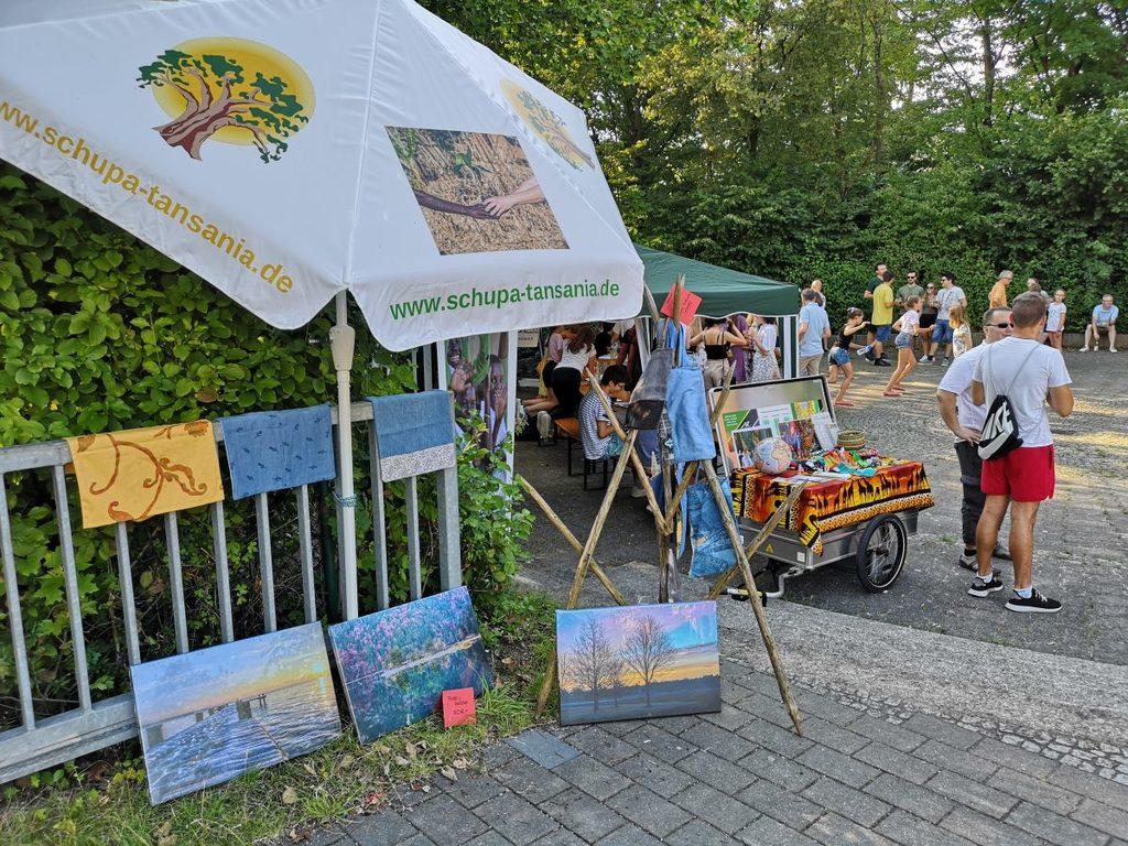 SchuPa-Infostand beim EMG-Sommerfest