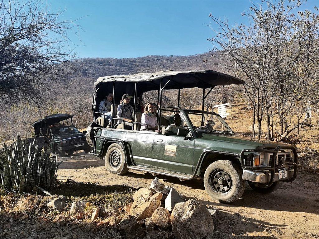Der Safaritag beginnt