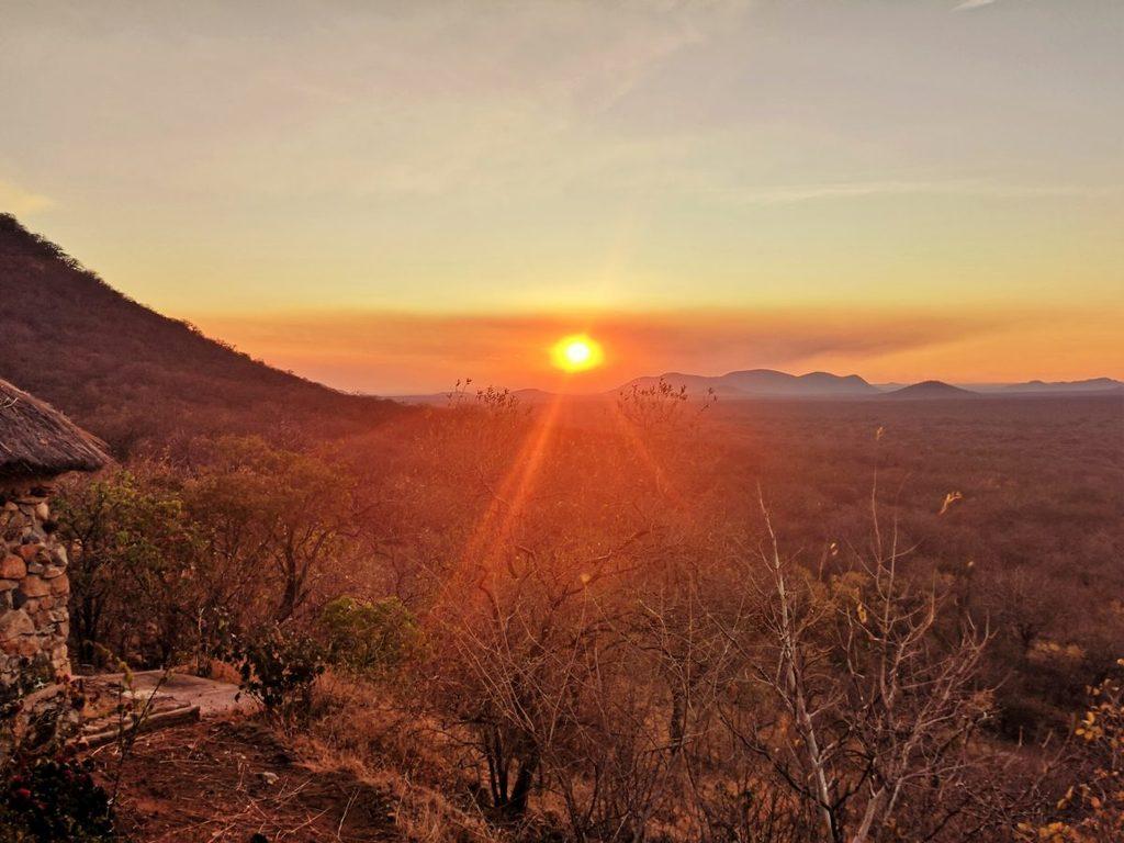 Sunset über dem Ruaha Nationalpark