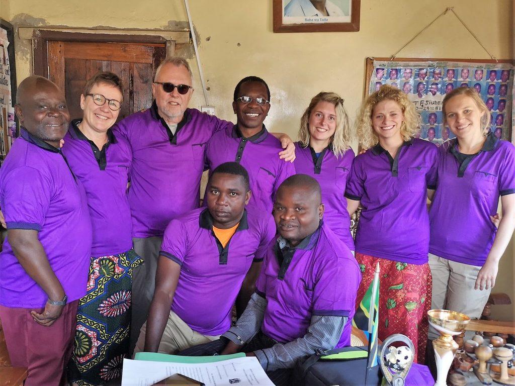 Ilembula Secondary School - Empfang beim Headmaster