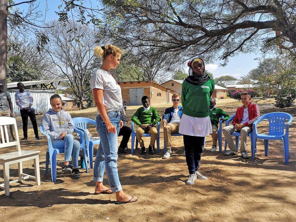 Workshop der Outgoing- und Incominggruppe