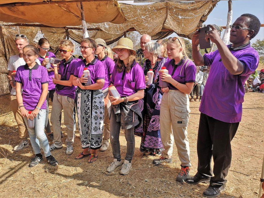 Mayale: Brunneneinweihung