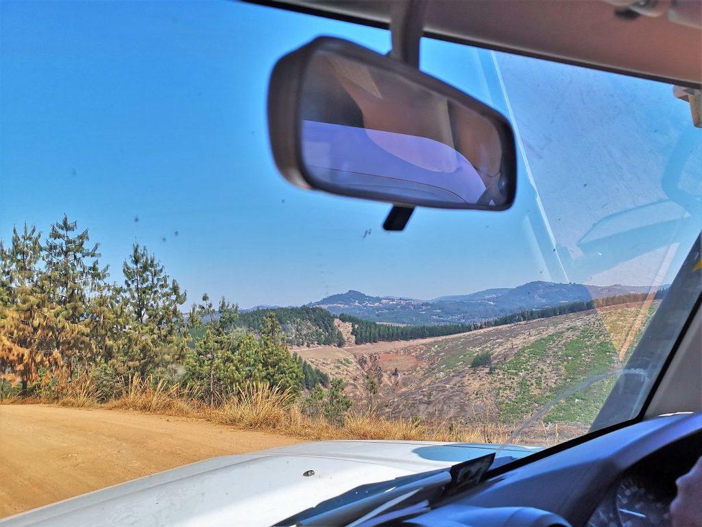 Fahrt nach Makangarawe