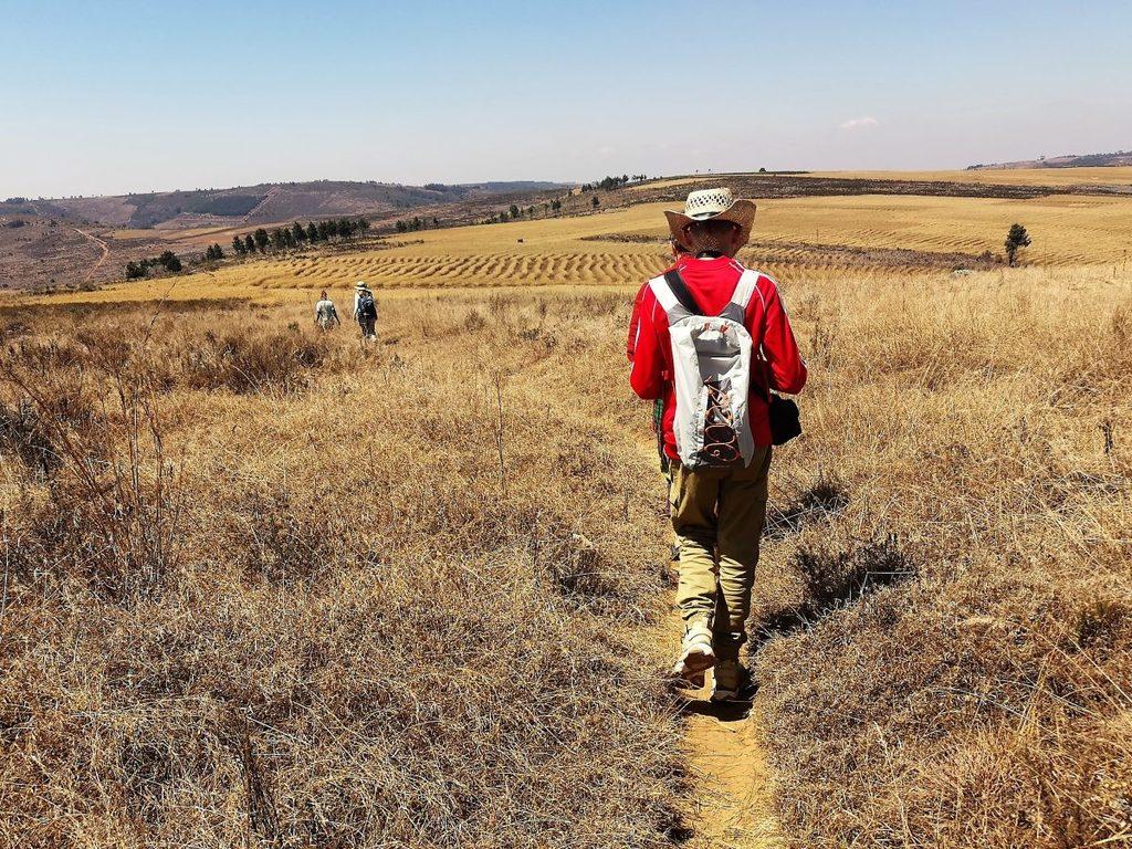 Makangarawe: Wanderung zur Aufforstungsfläche