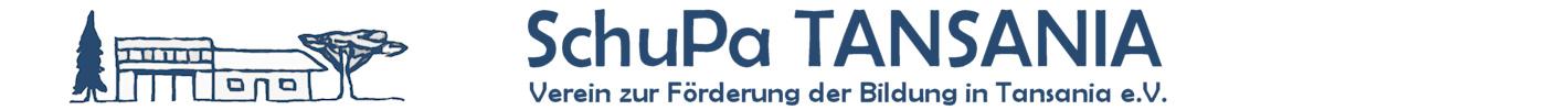 SchuPa Tansania e.V. Logo Banner