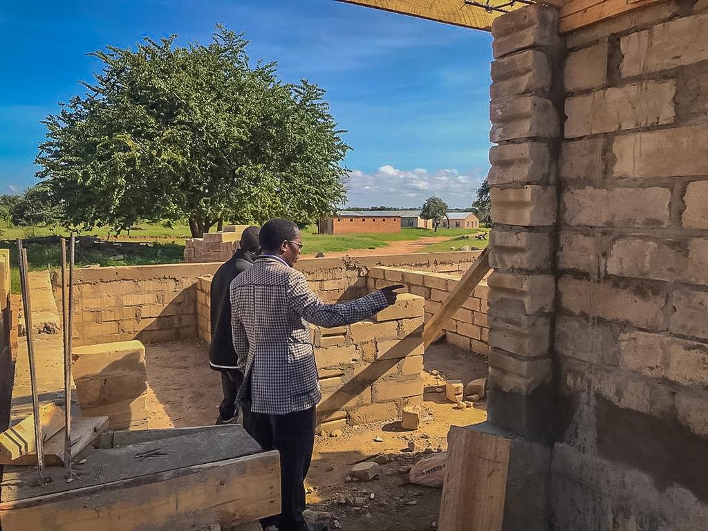LUDSS: Bau der Multifunktionshalle