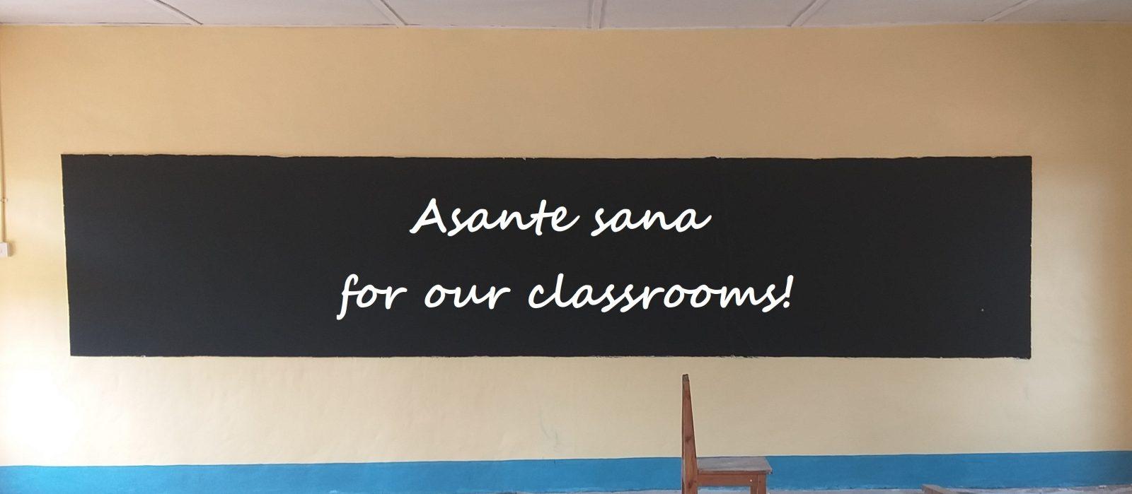 ILESS: Renovierung Klassenzimmer